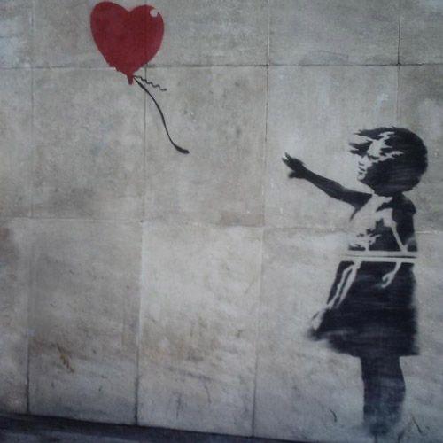 Banksy ballon meisje