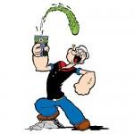 Popeye kracht en energie