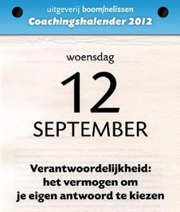 Kiezen en gekozen worden Coachingskalender 2012