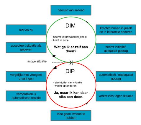 Cirkel van 8 - DIM of DIP