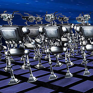 Wie is er bang voor de robots?