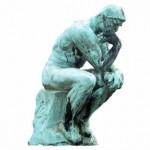 Rodin - De Denker - Presentatie en lichaamshouding