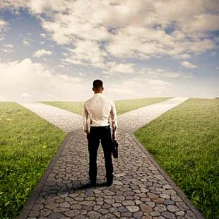 Onzekerheid over juiste keus, faalangst, bang voor de nieuwe baan