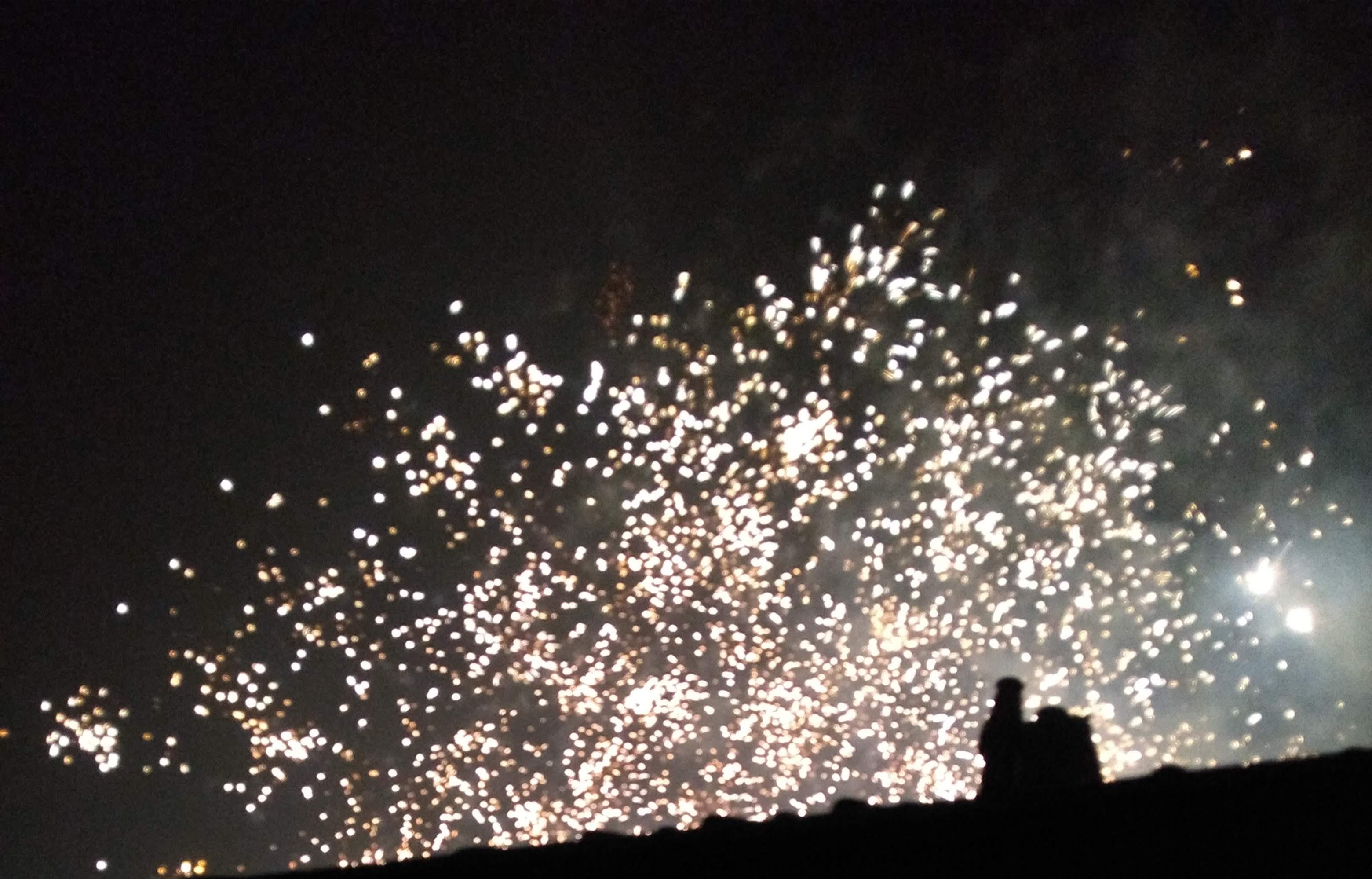 Vuurwerk als welkom voor 2019